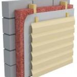 Утеплить стены из керамзитобетонных блоков.2