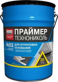 Праймер битумно-полимерный  ТЕХНОНИКОЛЬ №03 подробнее