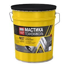 Мастика защитная  алюминиевая ТЕХНОНИКОЛЬ № 57 подробнее